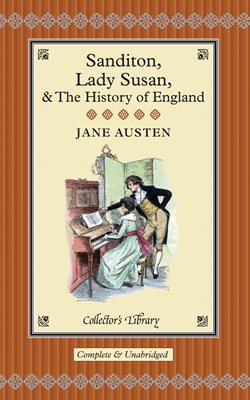 Book cover for Sanditon, Lady Susan, & The History of England